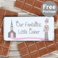 Our Fabulous Little Usher Chocolate Bar
