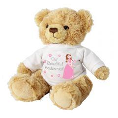 Our Beautiful Bridesmaid Teddy Bear