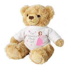 Our Beautiful Flower Girl Teddy Bear