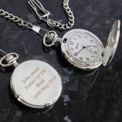 Personalised Nurse's Pocket Fob Watch