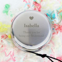 Personalised Heart YOYO Keepsake