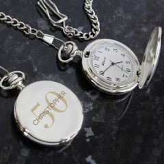 Personalised Happy Birthday Nurse's Pocket Fob Watch