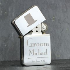 Personalised Wedding Design Groom Lighter