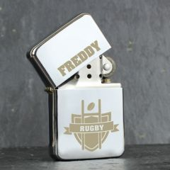 Personalised Rugby Design Lighter