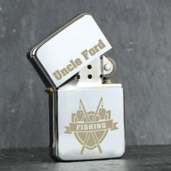 Personalised Fishing Design Lighter