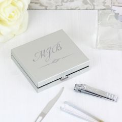Personalised Initials Nails Manicure Set