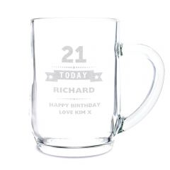 Personalised Birthday Design Star Tankard