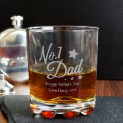 Personalised The No.1 Dad Tumbler