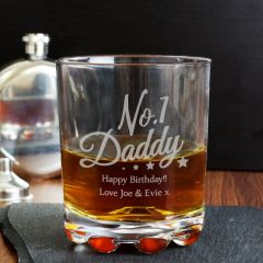 Personalised The No.1 Daddy Tumbler