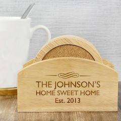 Personalised Decorative Design Coaster Set