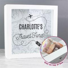 Personalised Travel Fund Box