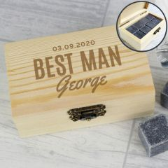 Personalised Whisky Stones Gift