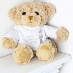 Personalised Our Fabulous Page Boy Message Bear