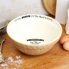 Personalised You Only Live Once... Mixing Bowl