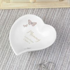 Personalised Secret Garden Ceramic Ring Dish