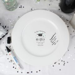 Personalised Graduation Message Plate