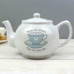 Personalised Vintage Design Tea Cup Teapot