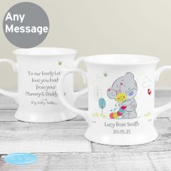 Personalised Tiny Tatty Teddy Bear Cuddle Bug Loving Mug