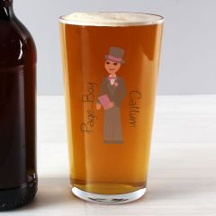 Personalised The Fabulous Young Male Pint Glass