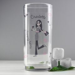 Personalised The Fabulous Hi Ball Glass