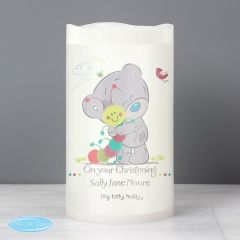 Personalised Tiny Tatty Teddy Cuddle Bug Nightlight LED Flickering Candle