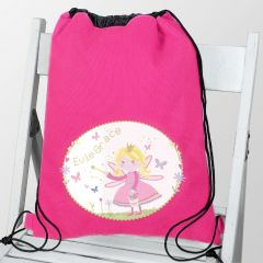Personalised Garden Fairy Swim & School Bag