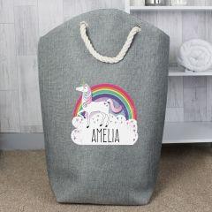Personalised Unicorn Design Storage Bag