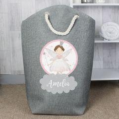Personalised Fairy Princess Design Storage Bag