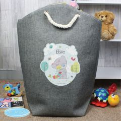 Personalised Tiny Tatty Teddy Bear Cuddle Bug Storage Bag