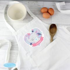 Personalised Tiny Tatty Teddy Children's Cookery Apron