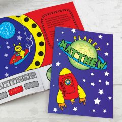 Personalised Space Design Story Book