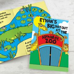 Personalised Zoo Design Story Book
