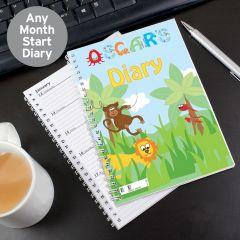 Personalised Animal Alphabet - Diary
