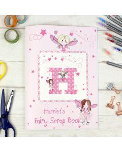 Personalised Fairy Design Scrapbook A4