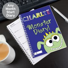 Personalised Little Monster - Diary