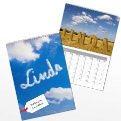 Personalised Great Outdoors Wall Calendar A4