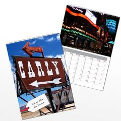 Personalised All American Wall Calendar A4
