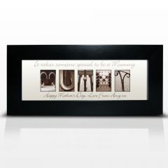 Personalised Affection Art Design Mummy Small Frame