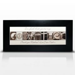 Personalised Affection Art Design Godfather Small Frame