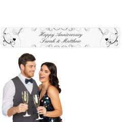 Personalised Ornate Swirl Design Banner