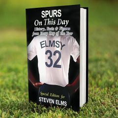 Personalised Spurs Events On This Day Book