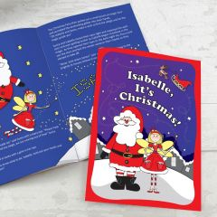 Personalised 'It's Christmas' Fairy Story Book