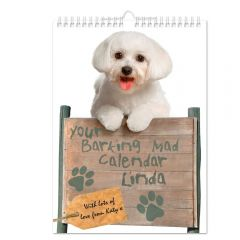 Personalised Your Barking Mad Wall Calendar A4