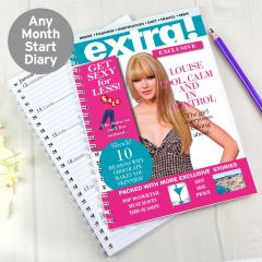 Personalised Extra Diary