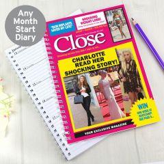 Personalised Close Diary