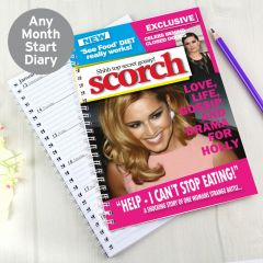 Personalised Scorch Diary