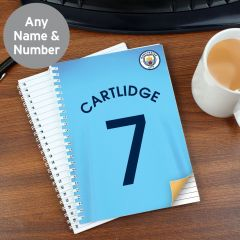 Personalised Manchester City Notebook