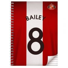 Personalised Sunderland Notebook