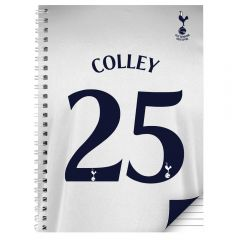 Personalised Tottenham Hotspur Notebook