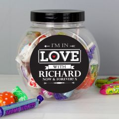 Personalised I'm In Love With Sweets